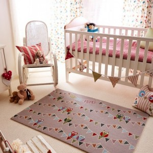 Whooo's Bunting About   Axminster Personalised Rugs
