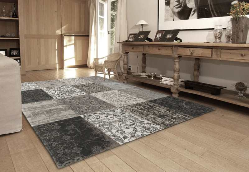 8101 Black and White | Louis de Poortere Rugs