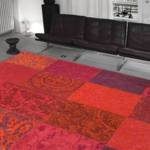 8103 Orange Purple | Louis de Poortere Rugs