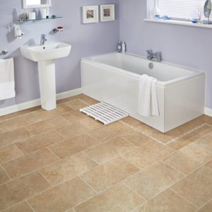 Bath Stone - Knight Tile | Room View