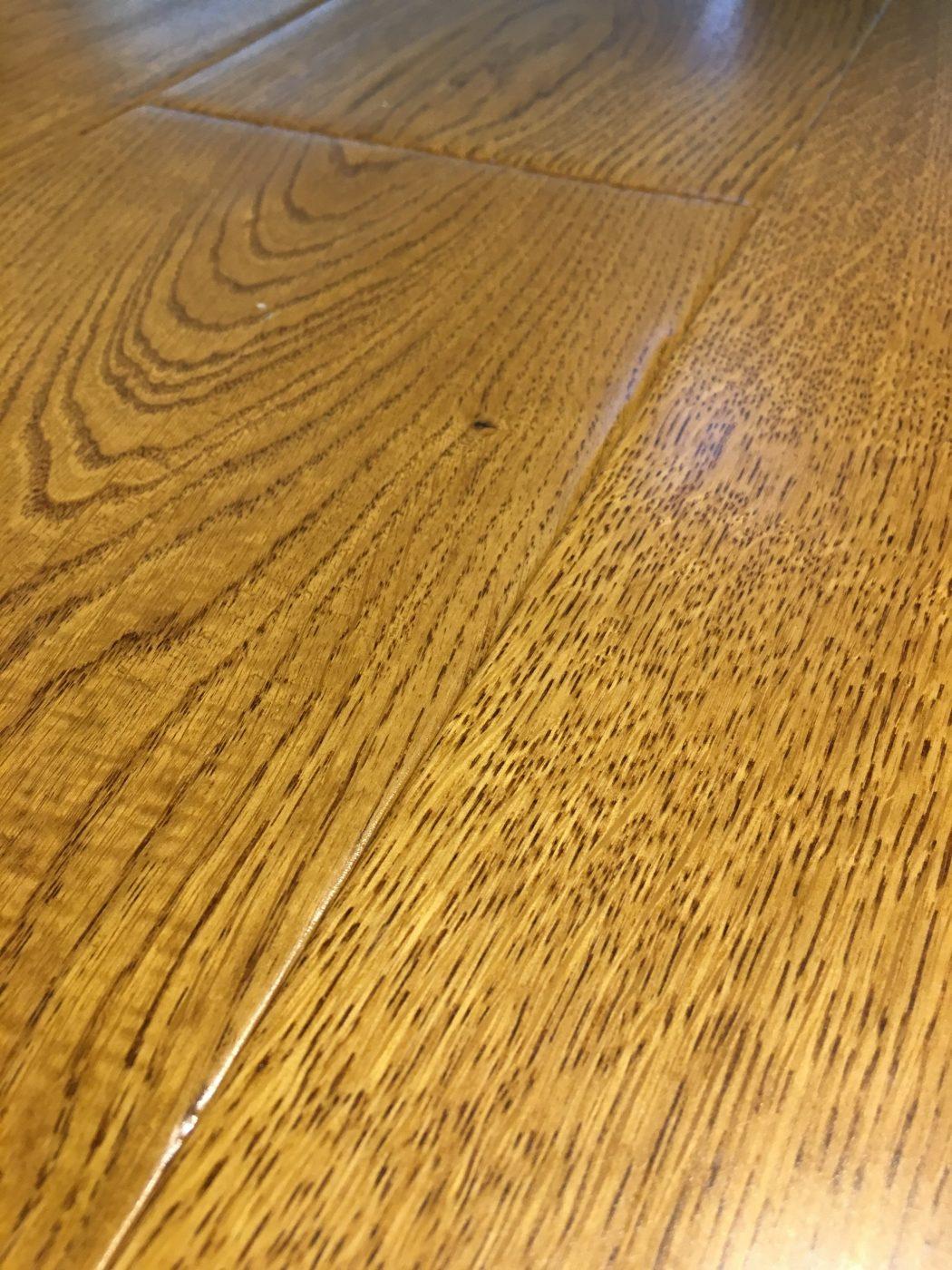 180mm Golden Handscraped Oak Essential Flooring