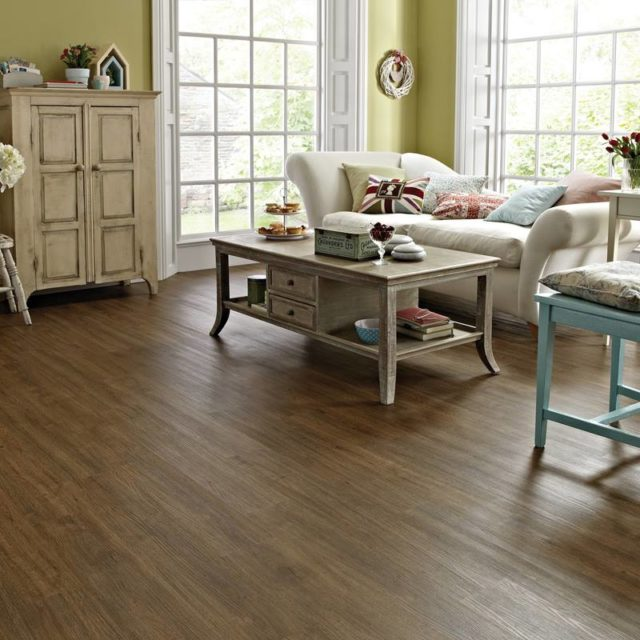 Lime Washed Oak - Knight Tile | Room View