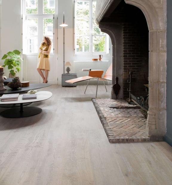 Quick-Step Hardwood - Rough Grey Oak Oiled IMP1628 - Quick-Step Imperio