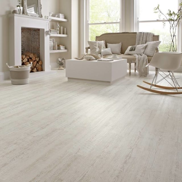 White Painted Oak - Knight Tile | Room View