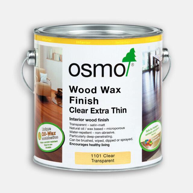 Wood Wax Finish Extra Thin Clear Satin   Osmo Interior   BestatFlooring