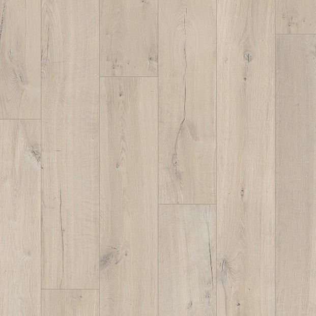Soft oak beige im1854 quick step laminate for Soft laminate flooring