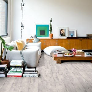 Concrete Wood Light Grey IM 1861 | Quick-Step Laminate