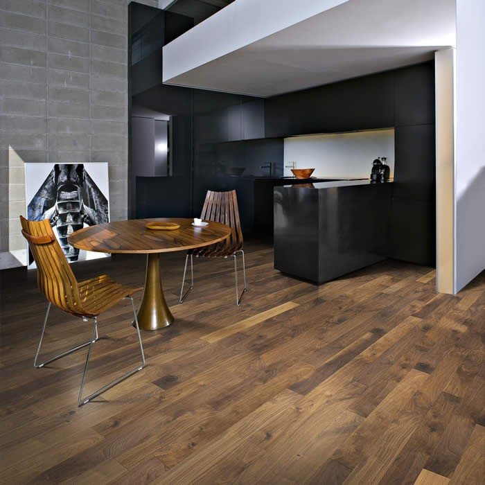 Walnut Groove | Kahrs Engineered Wood