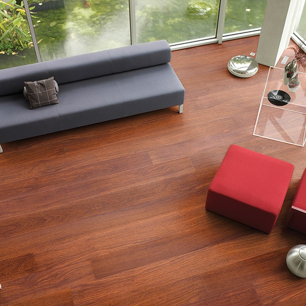 Natural Varnished Merbau Planks LPU 1288 | Quick-Step Laminate