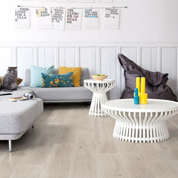 Quick Step Laminate | Largo | Long Island Oak Light LPU1660