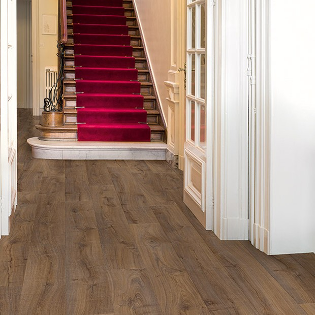 Cambridge Oak Dark LPU 1664 | Quick-Step Laminate