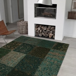 8022 Dark Green | Louis de Poortere Rugs