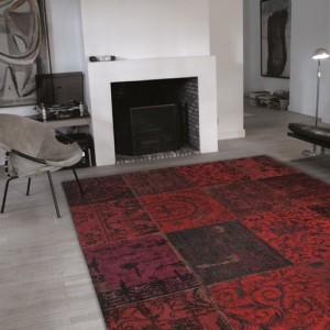 8014 Red | Louis de Poortere Rugs