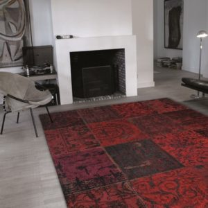 8014 Red | Louis de Poortere Rugs | Best at Flooring