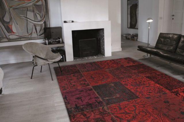 8014 Red | Louis de Poortere Rugs | Best at Flooring