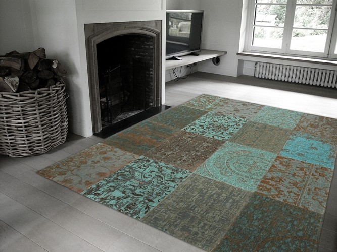 8006 Sea Blue | Louis de Poortere Rugs
