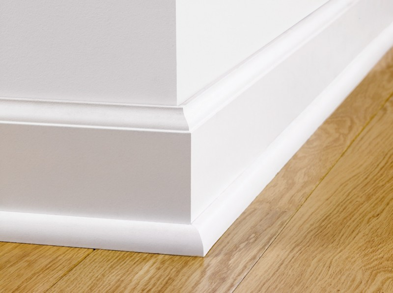 Paintable Skirting Ovolo Qsiskrwhitemd240 Quick Step