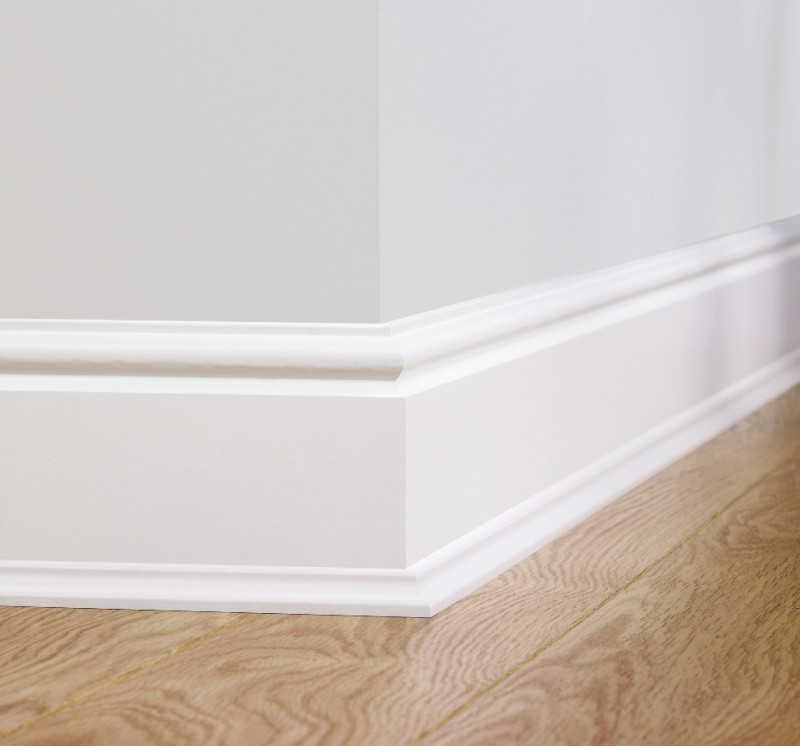 Paintable Skirting Torus QSISKRTORUSMD240 | Quick-Step Accessories