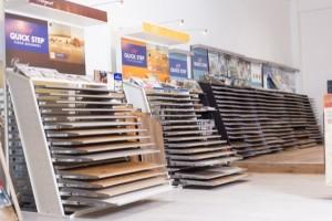 Quick Step Flooring Display | Best at Flooring