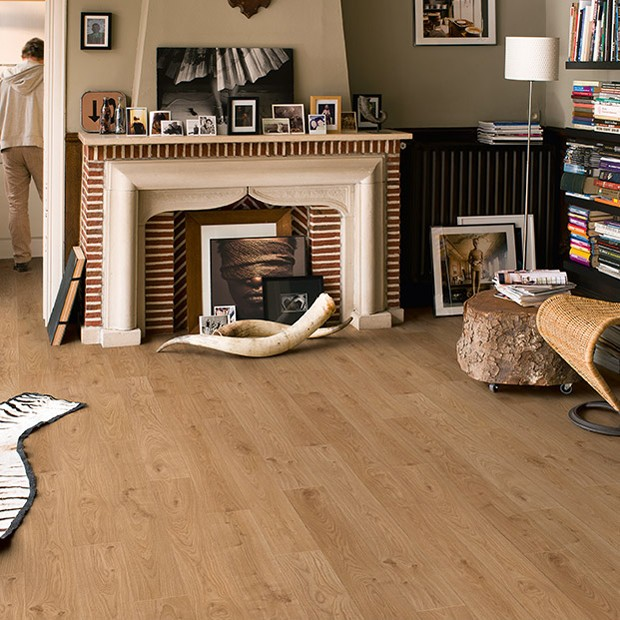 Quick Step Laminate | Elite | White Oak Light Planks UE1491