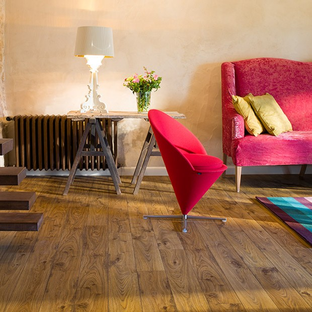 Quick Step Laminate | Elite | Old White Oak Natural Planks UE1493