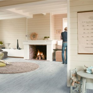 White Brushed Pine Planks UF 1235 | Quick-Step Laminate