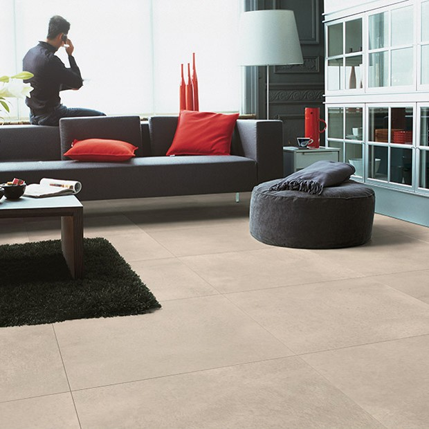 Quick Step Laminate | Arte | Polished Concrete Natural Tiles UF1246