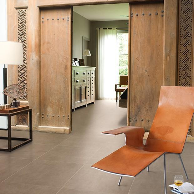 Quick Step Laminate | Arte | Leather Tile Dark UF1402