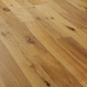 Wide Oak Rustic Brushed & Matt Lacquered A111