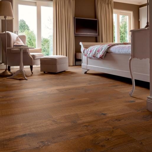 Dusky Oak Smoked Hand Sawn | Elka 14mm Engineered Wood | Best at Flooring