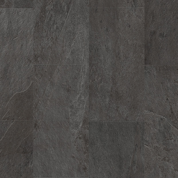 Black Slate AMCL40035 | Quick-Step Livyn Luxury Vinyl Tiles