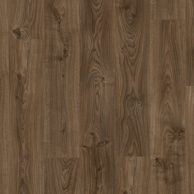 Cottage Oak Dark Brown BACL40027 | Quick-Step Livyn LVT