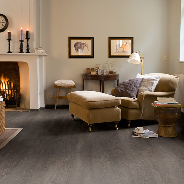 Quick Step Laminate | Classic | Old Oak Grey CLM1382