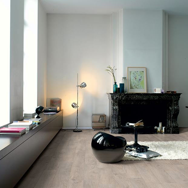Quick Step laminate | Classic | Old Oak Light Grey CLM1405