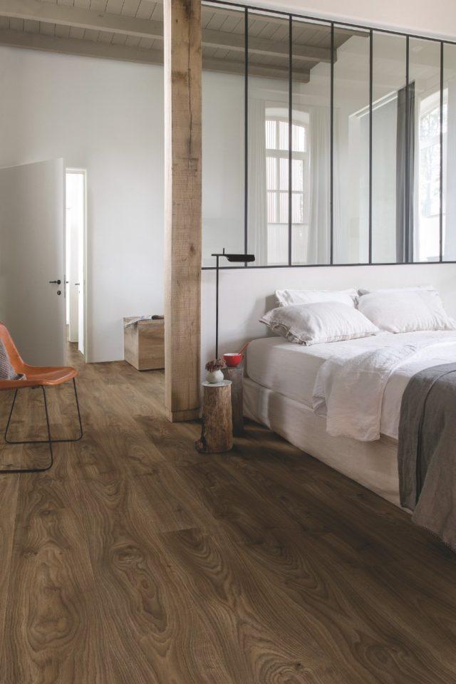 Quick Step Livyn   Balance Click   Cottage Oak Dark Brown BACP40027