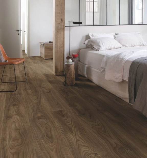 Quick Step Livyn | Balance Click | Cottage Oak Dark Brown BACP40027