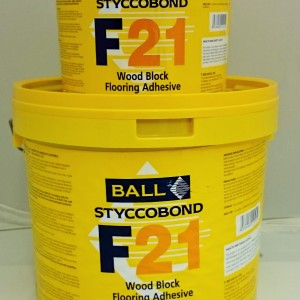 F21 Wood Block Adhesive