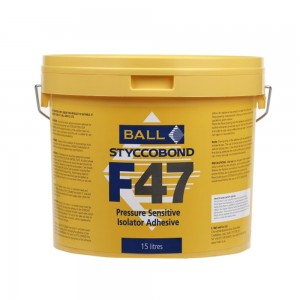 F47 Pressure Sensitive Isolator Adhesive