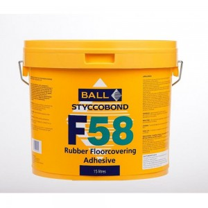 F58 Rubber Flooring Adhesive