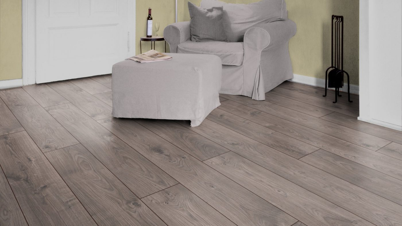 Atlas oak anthracite d3592 kronotex laminate best at for Laminate flooring company
