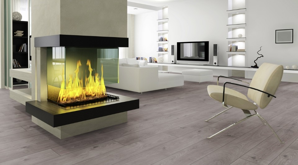 Everest Oak Grey D3178 | Kronotex Laminate