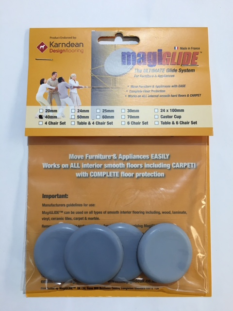 40mm Round Self Adhesive MG0040