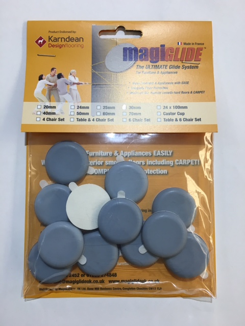30mm Round Self Adhesive MG0030