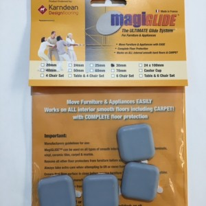 30mm Pad Square Self Adhesive MGSQ3030
