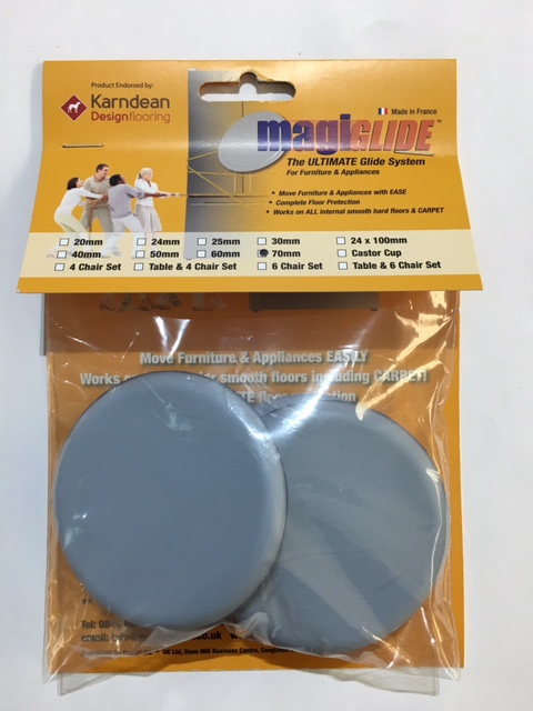 70mm Round Self Adhesive MG0070