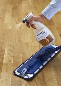 how to clean engineered wood flooring