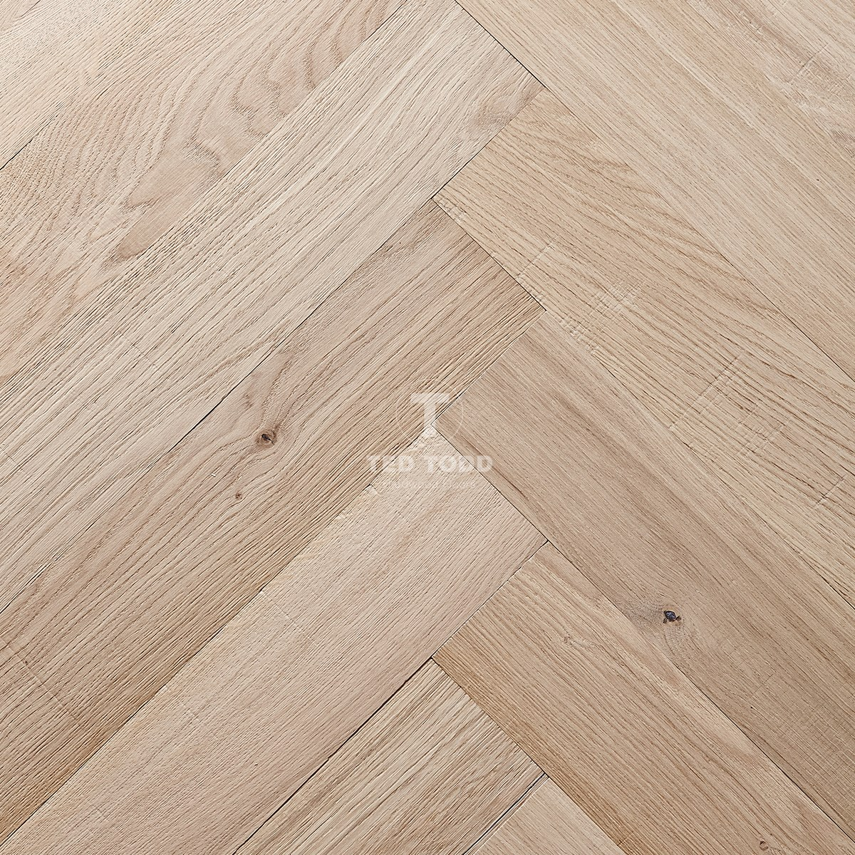 Woodworks by ted todd chevry herringbone engineered wood for Engineered wood flooring manufacturers