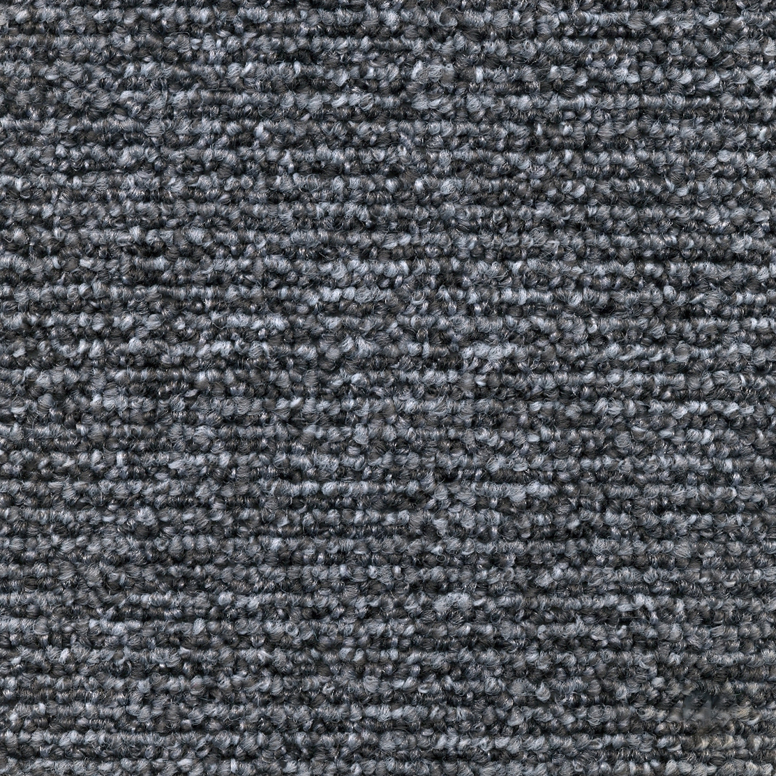 Titan Charcoal Slate | Loop Pile Polypropylene Carpet Tile