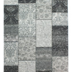 Manhattan_Patchwork_Chenille_BlackGrey