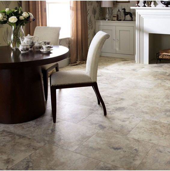 Dining Room Flooring: Karndean Luxury Vinyl Tiles